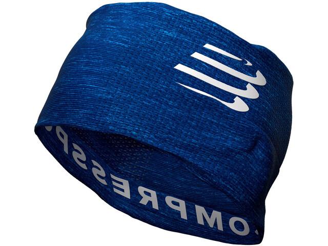 Compressport 3D Ultralight Thermo Headtube blue/melange